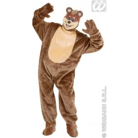 Plush Teddy Bear Costume Adult Fancy Dress Costume (Animals)