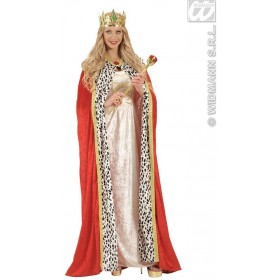 Jewelled King & Queen Crown - Fancy Dress (Royalty)