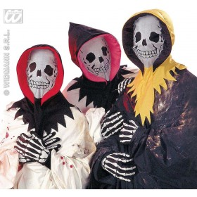 Skeleton Dress Up Set - Fancy Dress (Halloween)