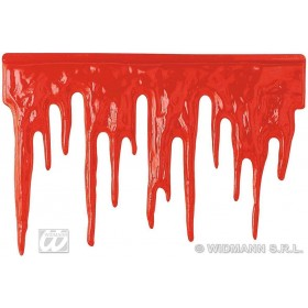 Blood Decoration 60X40Cm - Fancy Dress (Halloween)