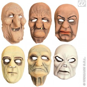 Half Mask 6 Styles Assorted - Fancy Dress