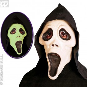 Gid Hooded Ghost Mask - Fancy Dress (Halloween)