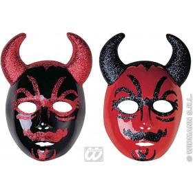 Mask Devil Glitter - Fancy Dress (Halloween)