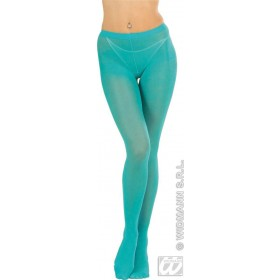 Xl Pantyhose Turquoise - Fancy Dress
