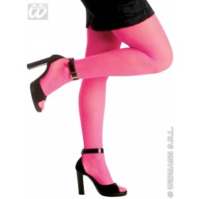 Neon Fishnet Tights - Fancy Dress