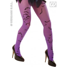 Neon Pantyhose W/Bats - Fancy Dress
