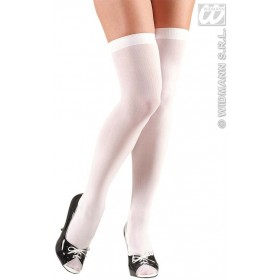 Over The Knee Socks White - Fancy Dress (Christmas)
