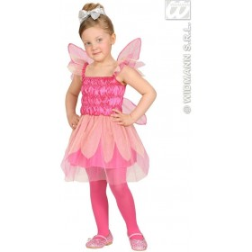 Beauty Pink Pixie Dress, Wings 98, 104Cm Costume (Fairy Tales)