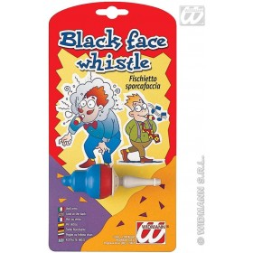 Black Face Whistle - Fancy Dress