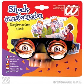 Glasses Shock Transformation - Fancy Dress