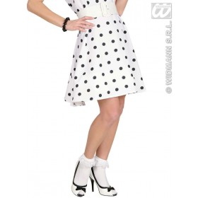 Socks W/Ruffle Lace Trim - 70 D - White - Fancy Dress
