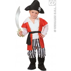 Pirate Boy Shirt & Coat,Pants 98, 104Cm Costume (Pirates)