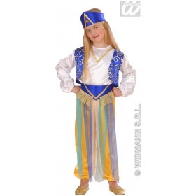 Arab Princess - Shirt, Vest, Pants, Belt Fancy Dress (Royalty)