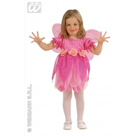 Lil' Rose Fairy With Dress-Wings Fancy Dress Girls (Fairy Tales)