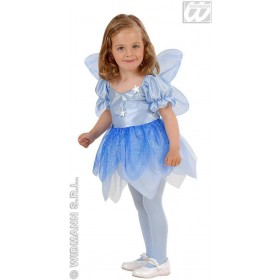 Lil' Blue Fairy With Dress-Wings Fancy Dress Girls (Fairy Tales)