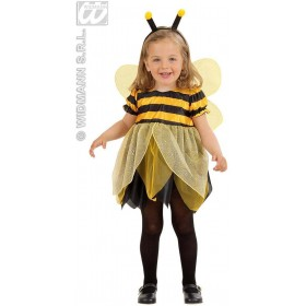 Lil' Bee - 98-104Cm - Dress-Wings-Antennas Fancy Dress