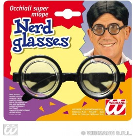 Nerd Glasses Carded - Fancy Dress