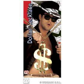 Dollar Necklace Gold - Fancy Dress