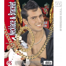 Rapper/Mafia Jewellery Set - Fancy Dress