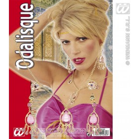 Odalisque Set Necklace / Earrings - Fancy Dress (Cultures)