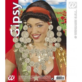 Gipsy Set Necklace / Earrings - Fancy Dress Sanc5043Z