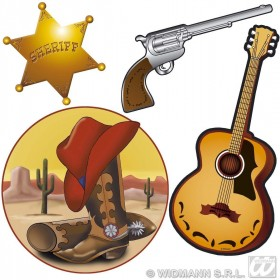 Western Decorations 40Cm - Fancy Dress