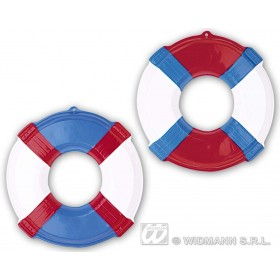 3D Lifebuoys Diam 46Cm 2 Cols Ass - Fancy Dress