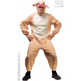 Porky Adult Animal Fancy Dress Costume Mens (Animals)
