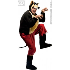 Big Bad Wolf Adult Animal Fancy Dress Costume Mens (Animals)