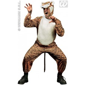 Tiger Adult Animal Costume Medium Fancy Dress Costume (Animals)