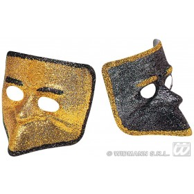 Glitter Venice Mask - Fancy Dress