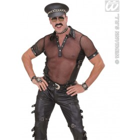 Hat Hard Rock Leatherlook - Fancy Dress