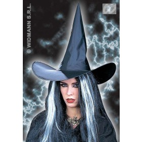 Witch Hat Black Plain - Fancy Dress (Halloween)