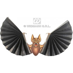 Bats W/Paper Fan Wings - Fancy Dress (Halloween)