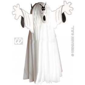 Ghosts Jumbo Neon H/Comb 76Cm - Fancy Dress (Halloween)