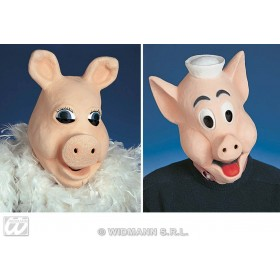 Mr Or Mrs Piggy Mask - Fancy Dress (Animals)