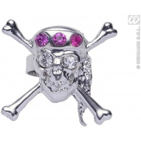 Strass Skull Rings - Fancy Dress
