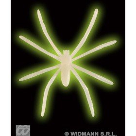 Spiders Glow In Dark Pvc - Fancy Dress (Halloween)