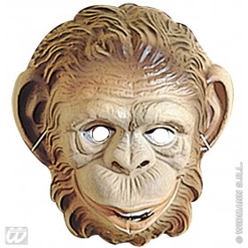 Monkey Mask Child Plastic - Fancy Dress (Animals)