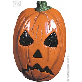 Horror Pumpkin Mask Plastic - Fancy Dress (Halloween)