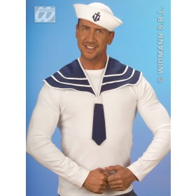 Sailor Set Collar/Hat - Fancy Dress (Sailor)