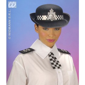 Policewoman Set Collar Tie Epaulettes - Fancy Dress (Cops/Robbers)