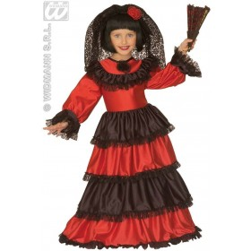 Senorita Costume Child Fancy Dress Costume Girls (Spanish)