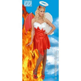 Heaven & Hell Adult Fancy Dress Costume Ladies