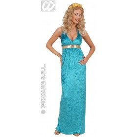 Velvet & Sequin Queen Of Atlantis Fancy Dress Costume (Royalty)