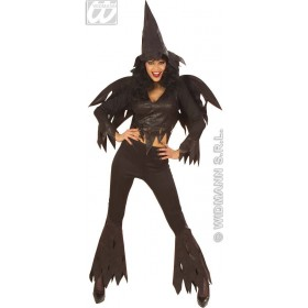Rowdy Witch Costume Teenage Fancy Dress Costume Girls (Halloween)