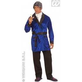 Playboy Jacket Velvet 2Cols Fancy Dress Costume Mens