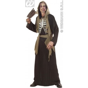Holographic Zombie Adult Fancy Dress Costume Mens (Halloween)