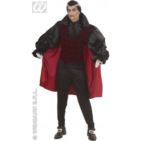 Victorian Vampire Adult Fancy Dress Costume Mens (Halloween)
