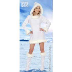 Eskimo Girl Adult Fancy Dress Costume Ladies (Christmas)